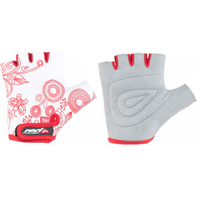 Red Cycling Products Race Bike Käsineet Lapset, white-red
